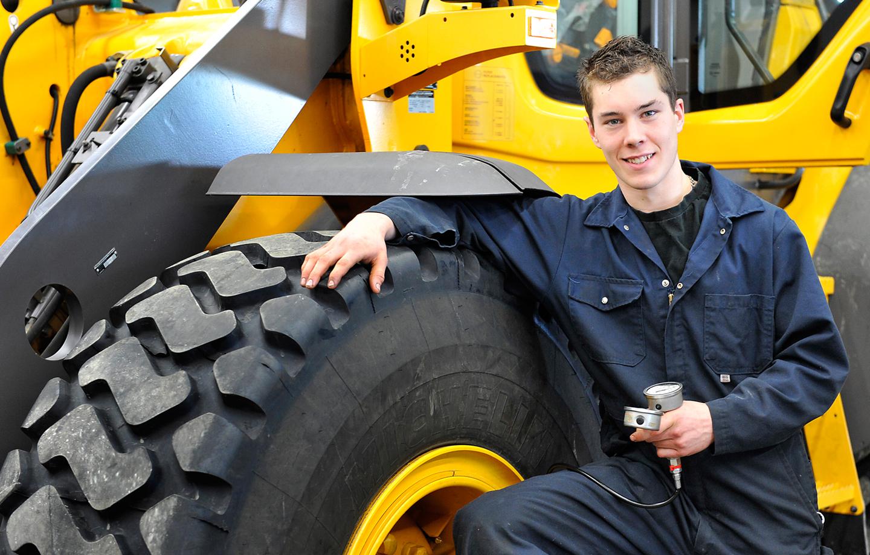 Mécanique d'engins de chantier